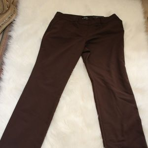 The Limited Straight Mid Rise Pants